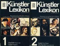 Künstlerlexikon - Biographien der großen Maler, Bildhauer und Baumeister in zwei Büchern